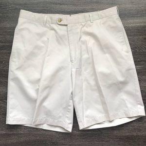 Peter Millar khaki shorts